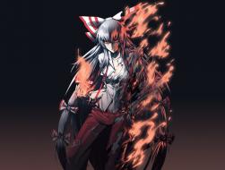 fire, fujiwara_no_mokou, …