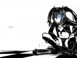 black_rock_shooter, blue_…