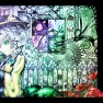 green_eyes, hat, komeiji_…