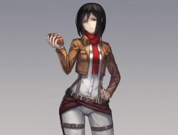 Mikasa From Attack On Tit…