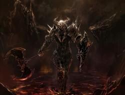 armor, horns, makai_no_ju…