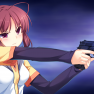 brown_hair, game_cg, gun,…