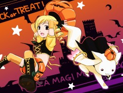 halloween, kyuubee, mahou…