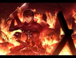 fire, male, sunakumo, swo…