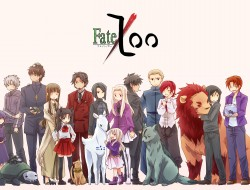 mti, animal, cat, fate_stay_night, fate_zero, jpeg_artifacts, lion, multiple_characters, tohsaka_rin, tohsaka_t