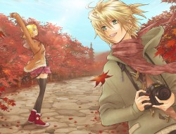 autumn, camera, kagamine_…