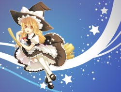 apron, blonde_hair, bloom…