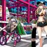 bicycle, bikini_top, blon…