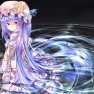 hat, long hair, patchouli…