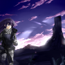 armor, clouds, grass, gun…