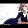 blue eyes, braids, cape, …