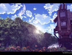 clouds, flowers, koala ka…