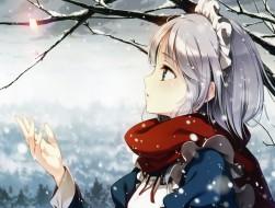 gray hair, izayoi sakuya,…