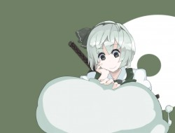 gray hair, konpaku youmu,…