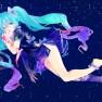 hatsune_miku , stars , ts…