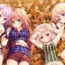 autumn, blue eyes, dress,…