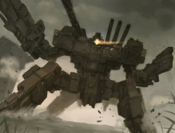 armored core, gun, mecha,…