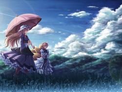 akashio, chen, clouds, sc…