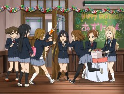 glasses, k-on, multiple c…