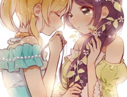Nozomi and Eli