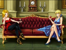 2girls ,  android_18 ,  b…
