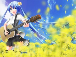 air , flowers , guitar , …