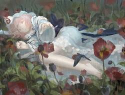 barefoot ,  flowers ,  sa…