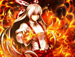 bow ,  fire ,  fujiwara_n…