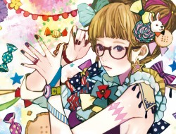 bunny , candy , glasses ,…