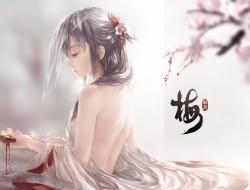 flowers , ritsuki , weapo…