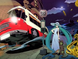 hat , hatsune_miku , long…