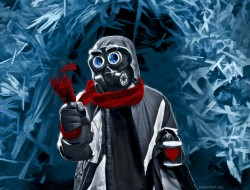 abstract i  gas masks i  …