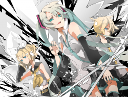 amine_len , kagamine_rin 