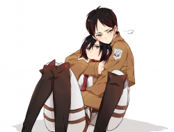 blush ,  eren_jaeger ,  h