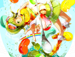 candy , goggles , green_e